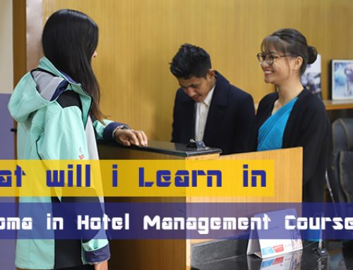 What Will I Learn in Diploma in Hotel Management Course ?